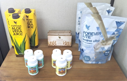 サプリメントによる栄養補給